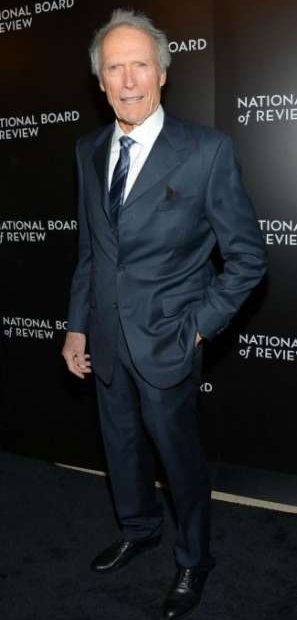 ¿Cuánto mide y cuánto pesa Clint Eastwood?