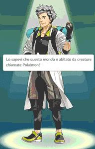 pokemon go inizio gioco