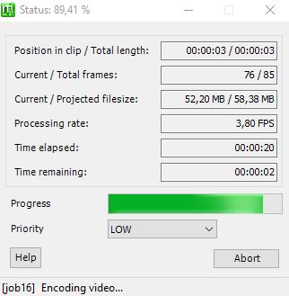 megui x264 encoding video