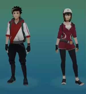 selezione avatar pokemon go