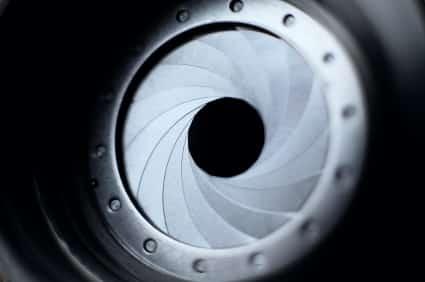 shutter aperture sensor