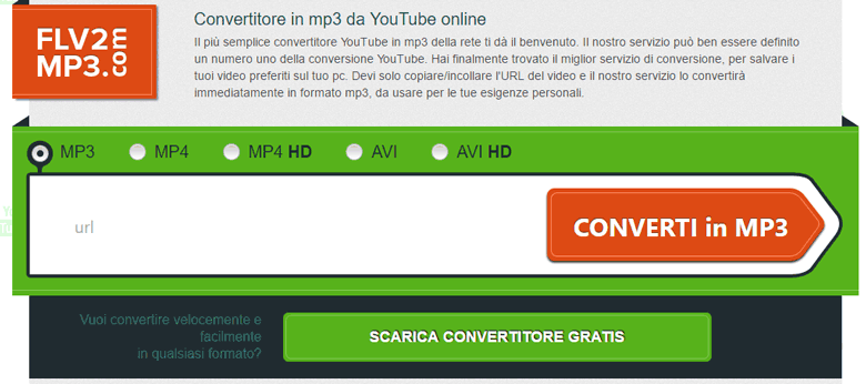 scaricare file mp3 da youtube android