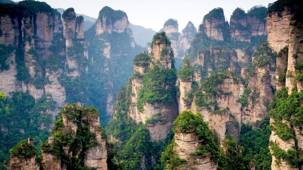 Tianzi Mountains China le montagne del film Avatar -
