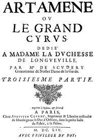 Artamène ou le Grand Cyrus 2.100.000 parole
