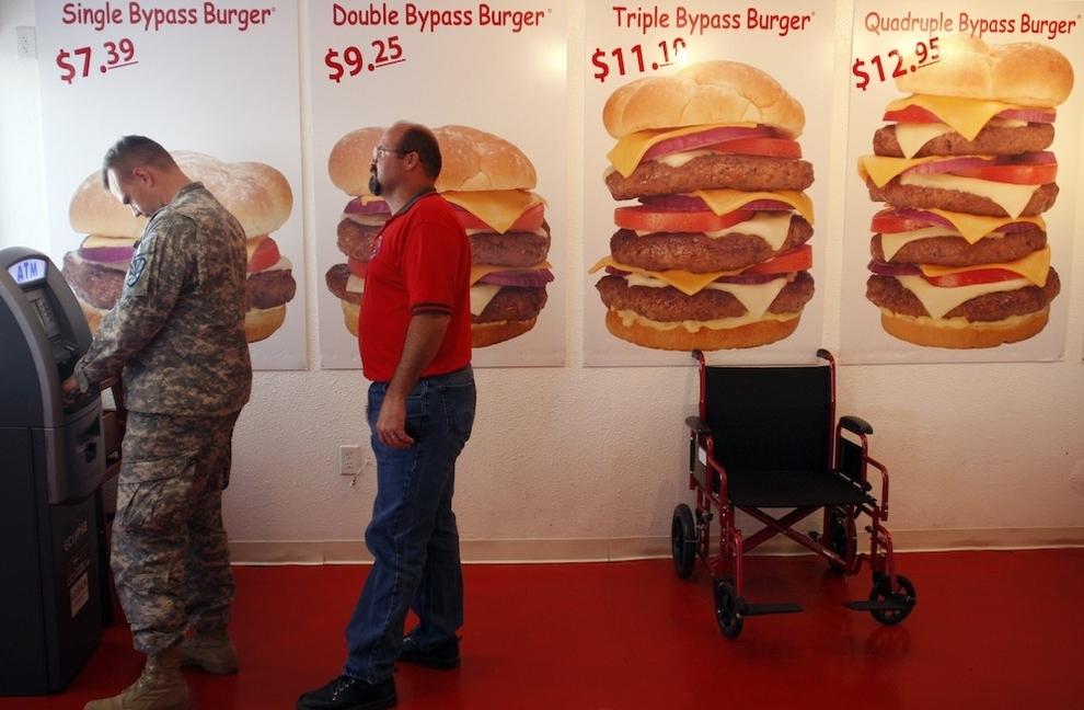Attacco di Cuore ristorante americano
