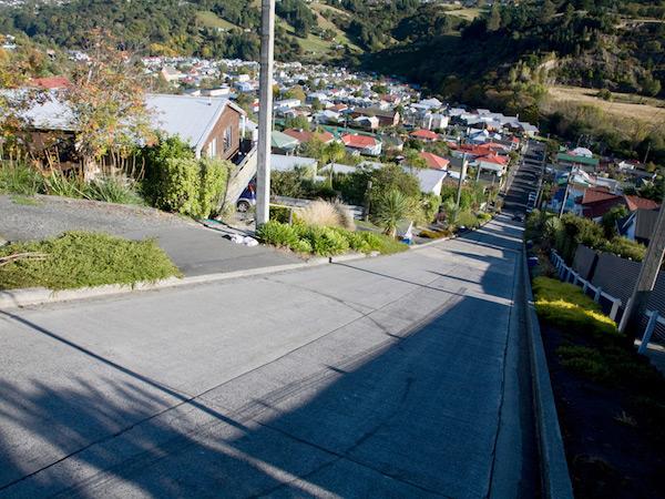 Dunedin, Baldwin Street in Nuova Zelanda