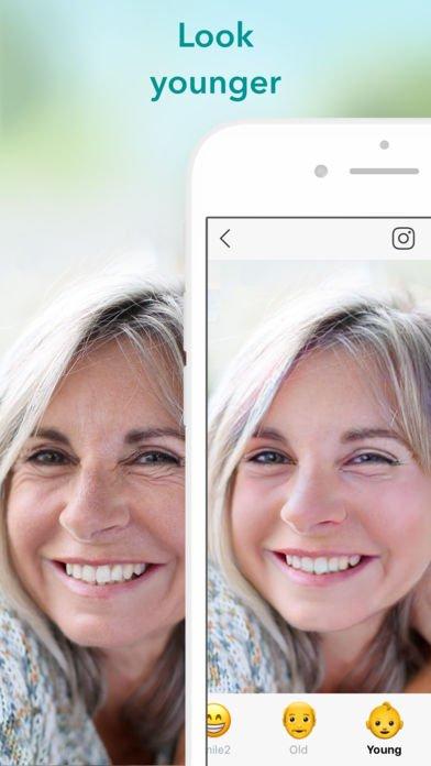 App per rimuovere brufoli e ringiovanire il viso