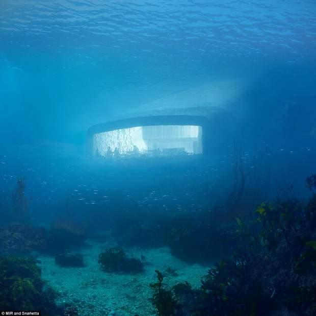 UNDER il ristorante subacqueo europeo