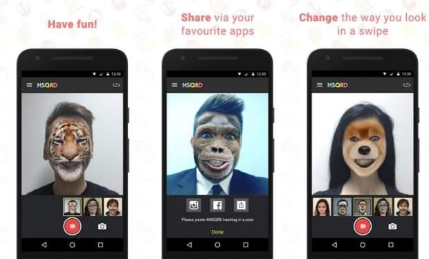 app per modificare volti android