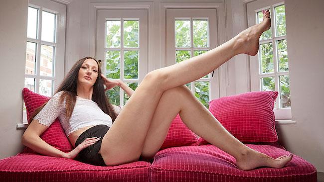 la donna con le gambe più lunghe -