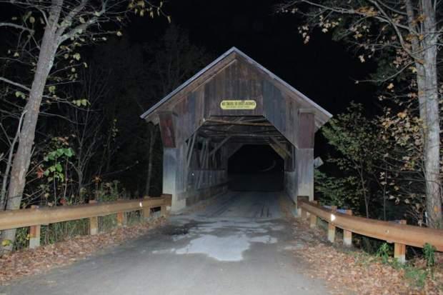 Emily's Bridge a Stowe, Vermont il ponte dei fantasmi