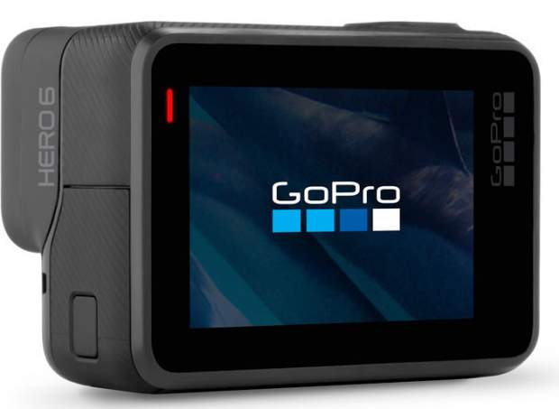 GoPro Hero 6 Black usa il codec HEVC H265 di Apple in IOS 11 e macOS High Sierra