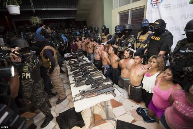 L'Honduras è la nazione più pericolosa al mondo con tasso omicidi più alto