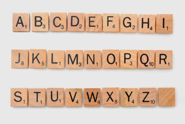 ordine lettere alfabeto