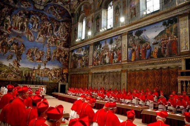 What is a conclave in the Catholic Church?